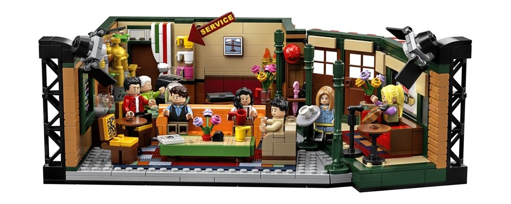 A New LEGO Friends Central Perk Set is Coming Out This September
