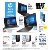 Best Buy - Weekly - HP Days Flyer