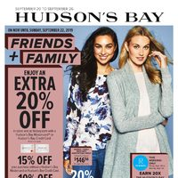 The Bay - Weekly - Friends & Family Event Flyer