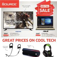 The Source - 2 Weeks of Savings - Great Prices on Cool Tech Flyer