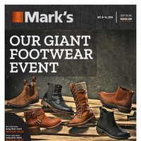 - 6 Days of Savings - Our Giant Footwear Event Flyer