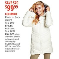 Columbia Peak To Park Jacket