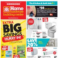 Home Hardware - Building Centre - The Kitchen & Bath Sale Flyer