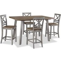5-Pc Amelia Counter Height Dining Package