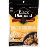 Black Diamond Cheese Bars, Shredded Cheese Or Cheestrings