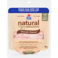 Maple Leaf Natural Selections Sliced Or Carved Deli Meat
