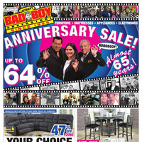 Bad Boy Furniture - Anniversary Sale! Flyer