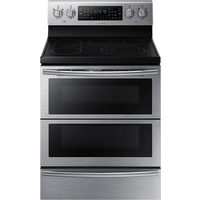 "Samsung 30"" 5.9 Cu. Ft. Self-Clean Freestanding 5-Element Smooth Top Electric Range"
