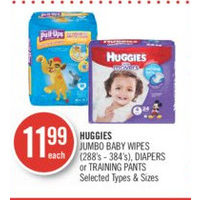Huggies Jumbo Baby Wipes , Diapers Or Training Pants
