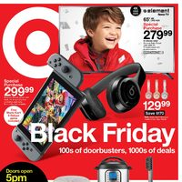 US Black Friday - Target US - Black Firday Sale Flyer