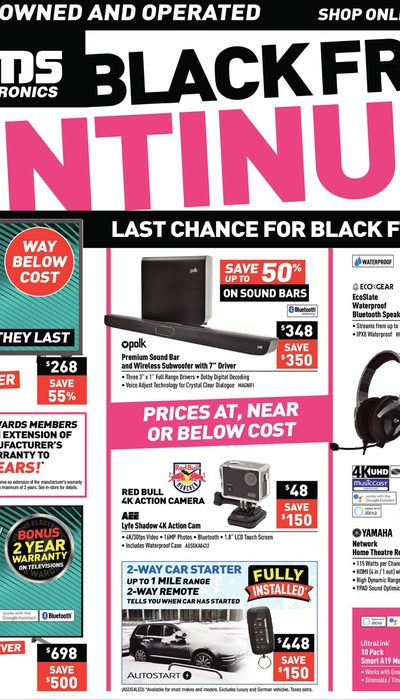 Visions Electronics - Weekly - Black Friday Continues Flyer