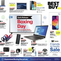 - Early Release - Boxing Day Deals Flyer