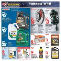 PartSource - Winter Must Haves Flyer