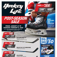 Pro Hockey Life - Post-Season Sale Flyer