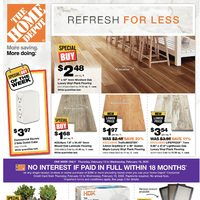 Home Depot - Weekly - Refresh For Less Flyer