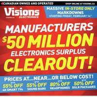 - Weekly - $50 Million Clearout! Flyer
