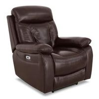 Hayes Genuine Leather Power Recliner