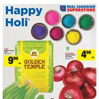 Real Canadian Superstore - World Foods - Happy Holi Flyer