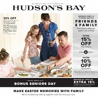 The Bay - Weekly - Make Easter Memories With Family Flyer