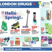 - 6 Days of Savings - Hello Spring! Flyer