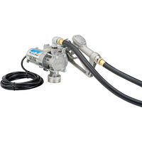 12V Fuel Transfer Pump With Manual Nozzle