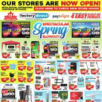 - Spectacular Spring Blowout! Flyer
