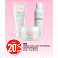 Avene Thermal Water, Sun Or Moisturizing Skin Care Products