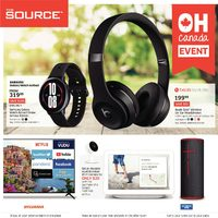 The Source - 2 Weeks of Savings - Oh Canada Event Flyer