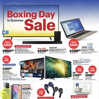 Best Buy - Weekly - Boxing Day Sale in Summer Flyer
