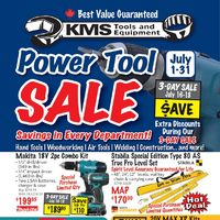 KMS Tools - Power Tool Sale Flyer
