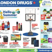 - 6 Days of Savings - Hello Summer Flyer