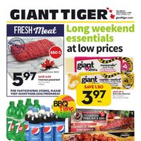 Giant Tiger - Weekly - Long Weekend Essentials Flyer