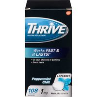 Claritin Tablets, Nicorette Gum, Inhaler, Quick Mist, Thrive Gum or Lozenge