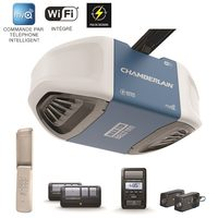 Chamberlain 1-1/4-HPS Wi-Fi Garage Door Opener With  Ultra-Quiet Operation
