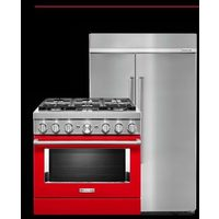 Kitchenaid Qualifying Built-in Refrigerators and Commercial Ranges