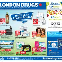 - 6 Days of Savings - Find It All At London Drugs Flyer