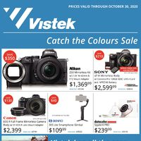 Vistek - Catch The Colours Sale Flyer
