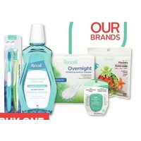 Rexall Brand Oral Health Products