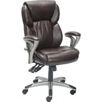 Serta Ergonomic High-back Leather Chair