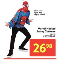 Marvel Hockey Jersey Costume