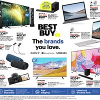 Best Buy - Weekly Deals - The Brands You Love Flyer