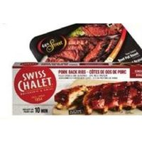 Swiss Chalet Full Cooked Pork Back Ribs or 44th Street Entrees