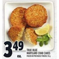 True Blue Maryland Crab Cakes
