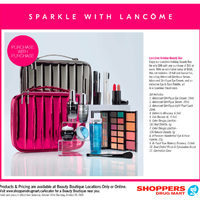 - Beauty Boutique Locations Only - Sparkle With Lancome Flyer