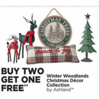 Winter Woodlands Christmas Decor Collection by Ashland