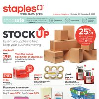 Staples - Weekly - Stock Up Flyer