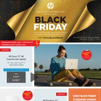 HP - Black Friday Flyer
