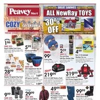 PeaveyMart - Cozy Up To Winter Flyer