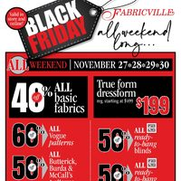- Black Friday All Weekend Long Flyer