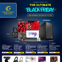 Canada Computers - The Ultimate Black Friday Flyer